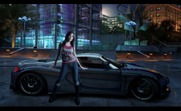 Car Girl Wallpapers Free Download
