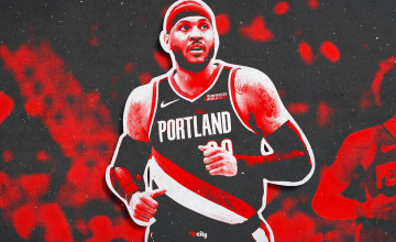 Carmelo Anthony Blazers Wallpapers