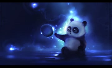 Cartoon Panda Wallpaper