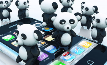 Cartoon Panda Wallpapers