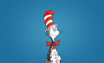 Cat in the Hat Wallpaper