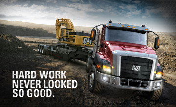 Caterpillar Equipment Wallpaper