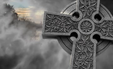 Celtic Cross Wallpaper