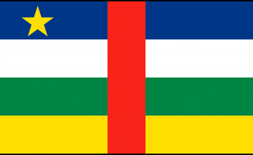Central African Republic Flag Wallpapers