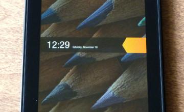 Change Kindle Fire Lock Screen Wallpaper