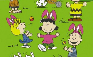 Charlie Brown Easter Wallpaper