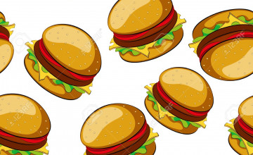 Cheeseburger Background