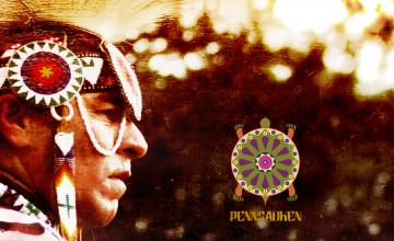 Cherokee Indian Wallpaper