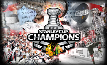 Chicago Blackhawks Stanley Cup Wallpaper