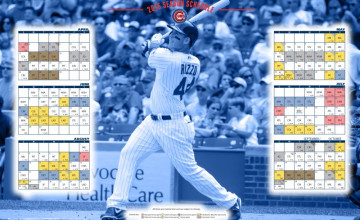 Chicago Cubs Schedule Wallpaper