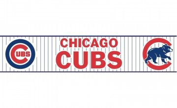 Chicago Cubs Wallpaper Border