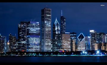 Chicago Skyline Background