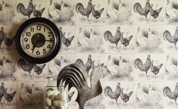 Chicken Kitchen Wallpaper