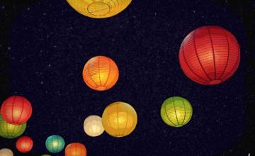 Chinese Lantern Wallpaper