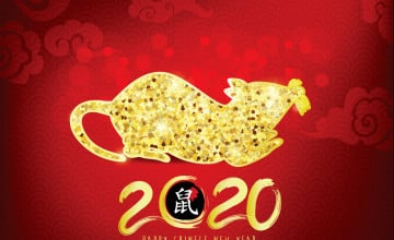 Chinese New Year 2020 Year Of The Rat Wallpapers - Wallpaper ...
