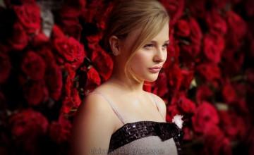 Chloe Moretz HD Wallpaper