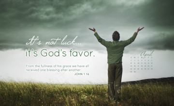 Christian Monthly Calendar Wallpaper