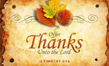 Christian Thanksgiving Wallpaper