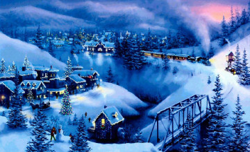 Christmas and Snow Wallpapers Free
