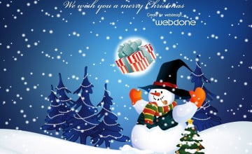 Christmas Desktop Free Theme Wallpaper