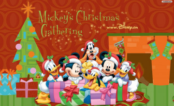 Christmas Disney Screensaver Wallpaper