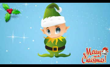 Christmas Elves Wallpaper