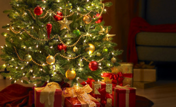 Christmas Tree Backgrounds and Wallpapers