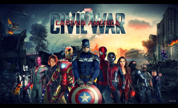 Civil War HD Wallpaper