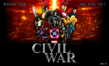 Civil War Marvel HD Wallpaper