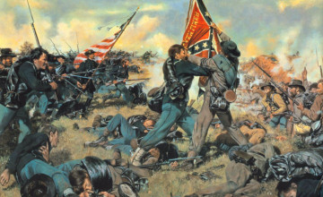 Civil War Paintings Wallpaper