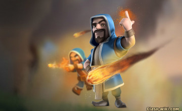 Clash Of Clans Wizard Wallpapers