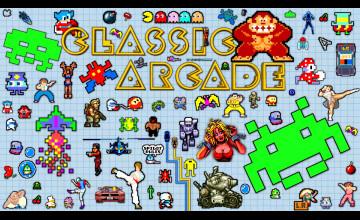Classic Arcade Wallpaper