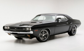 Classic Muscle Cars Wallpaper