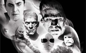 Classic Universal Monsters Wallpaper