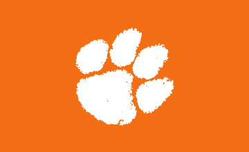 Clemson Tiger Paw Wallpaper