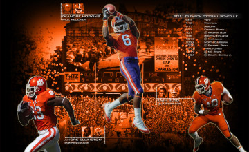 Clemson Tigers Wallpaper for Computer