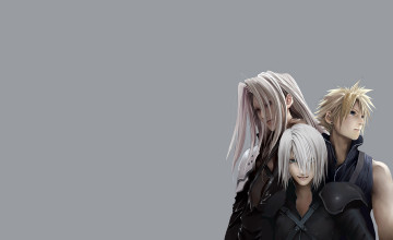 Cloud and Sephiroth Wallpaper