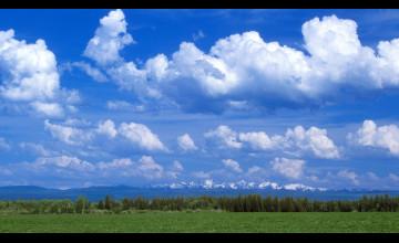 Cloudy Sky Wallpaper