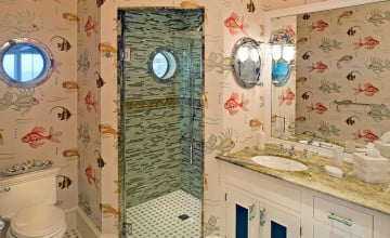 Coastal Wallpaper for Bathroom