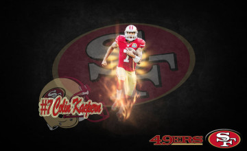 Colin Kaepernick 49ers 2015 Wallpaper