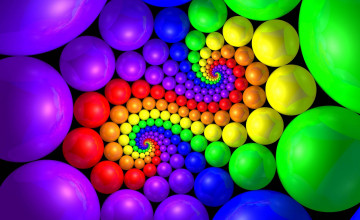 Colorful 3D Desktop Wallpaper