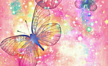 Colourfull Butterfly Mobile Wallpaper