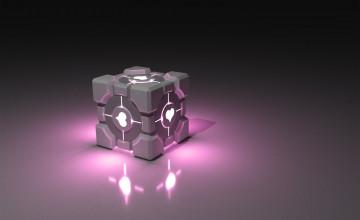 Companion Cube Wallpaper