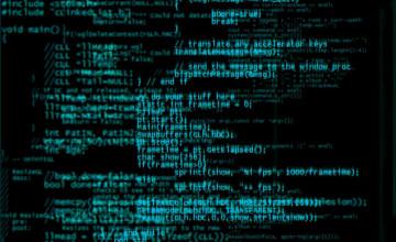 Computer Code Wallpaper