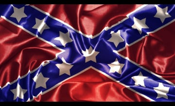 Confederate Flag Wallpaper 3D