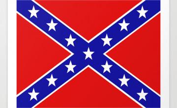 Confederate Flag Wallpaper Border