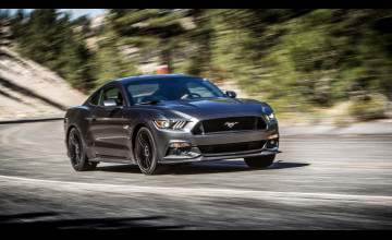 Cool 2015 Mustang GT Wallpaper