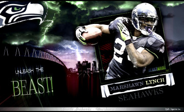 Cool Marshawn Lynch Wallpaper