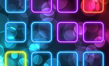 Cool Neon Wallpapers for iPhone