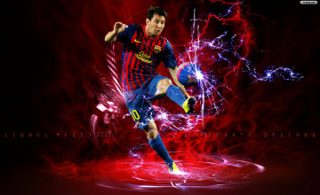Cool Wallpapers of Messi